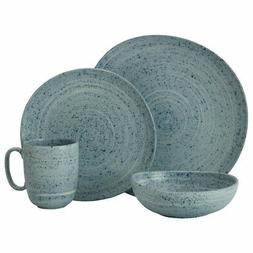 Mikasa Whistler Blue 48 Piece Dinnerware Set
